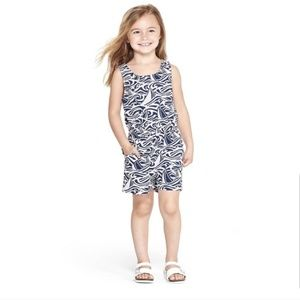 Vineyard Vines Target Rough Seas Romper